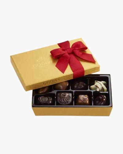 Holiday Chocolates Assortment Ballotin (8-Piece)