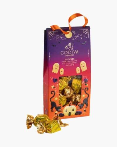 Halloween G Cube Chocolate Truffles Pouch (10 pc.)