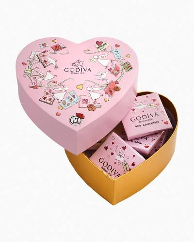 Limited Edition Valentine's Day Chocolates Mini Heart Box