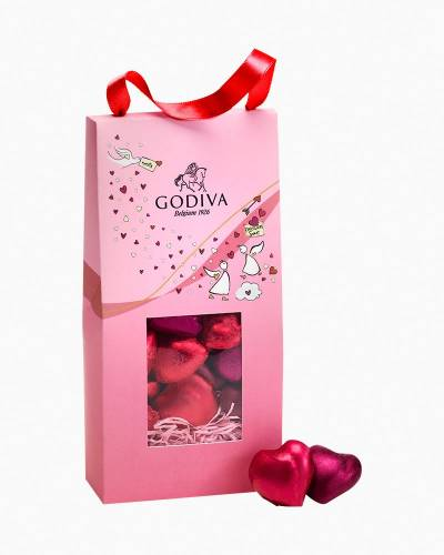 Limited Edition Valentine's Day Heart Chocolates Gift Bag