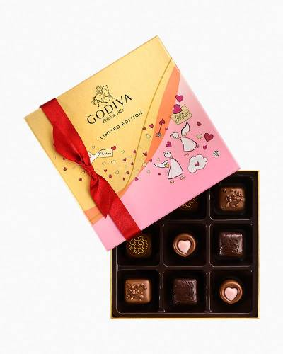 Limited Edition Valentine's Day Chocolates Gift Box