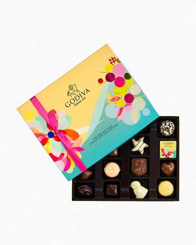 Assorted Chocolates Spring Gift Box (16 Piece)