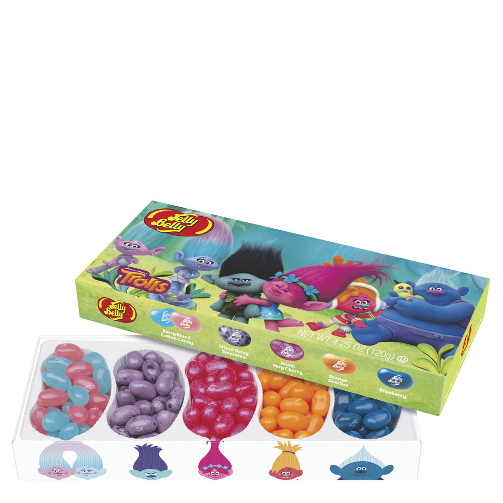 Jelly Belly Dreamworks Trolls Jelly Belly Beans Gift Box