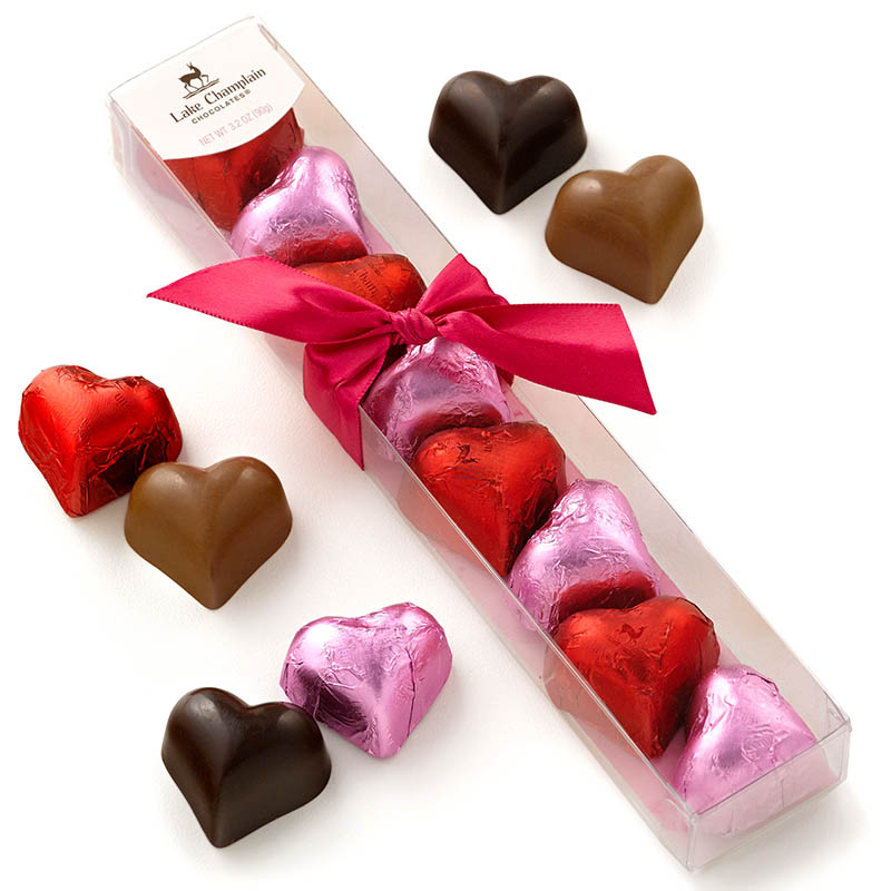 Lake Champlain Chocolates Straight from the Heart Chocolates Gift Sleeve