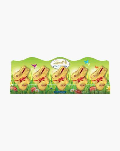 Milk Chocolate Mini Gold Foil Bunnies