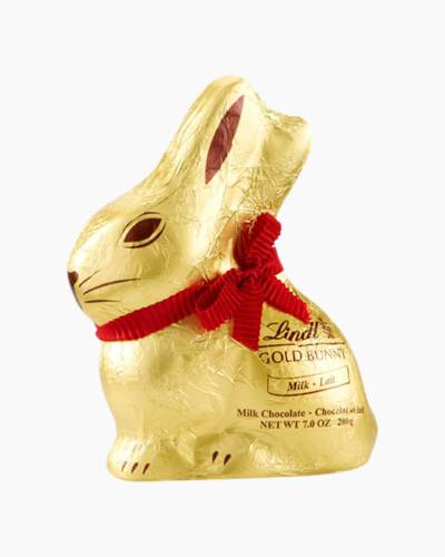 Large Milk Chocolate Gold Bunny