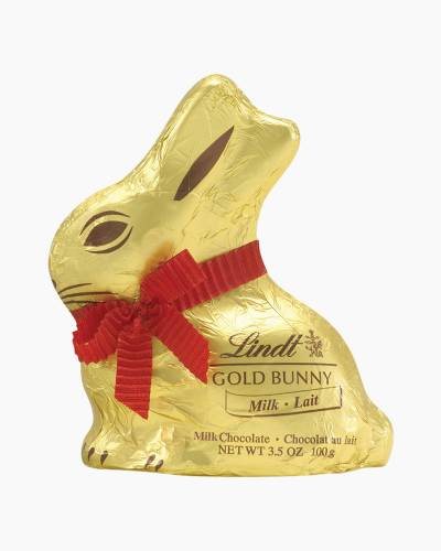Milk Chocolate Gold Foil Bunny