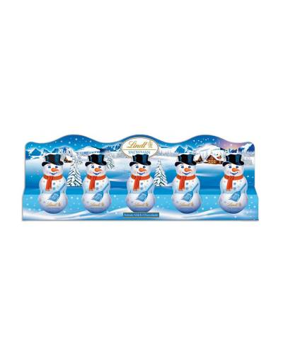 Milk Chocolate Snowman Set (5-Pack)