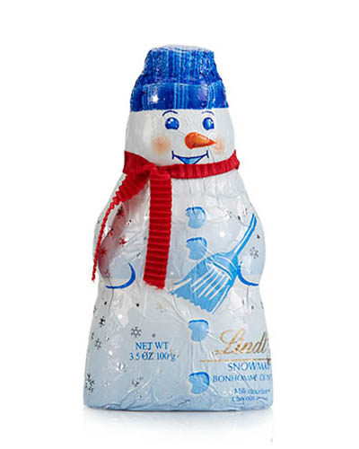Lindt Milk Chocolate Snowman