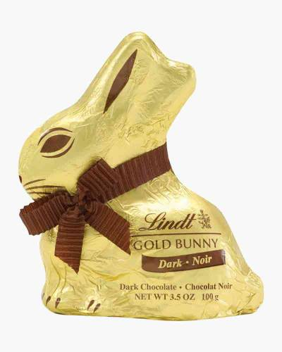 Dark Chocolate Gold Foil Bunny
