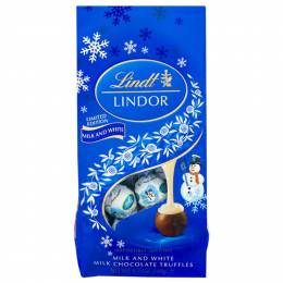 Lindt Limited Edition Snowman Chocolate Truffles Bag