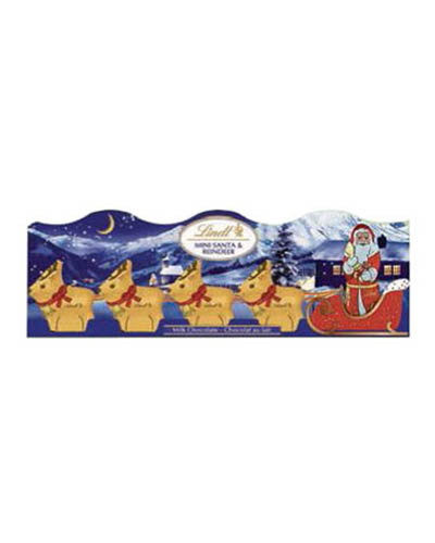 Lindt Mini Sleigh Milk Chocolate 5-Pack