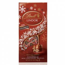 Lindt Limited Edition Gingerbread Milk Chocolate Truffles Medium Bag