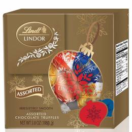 Lindt Assorted Chocolate Truffles Holiday Box