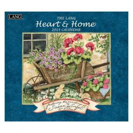 LANG Heart and Home 2015 Wall Calendar
