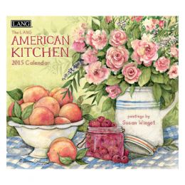 LANG American Kitchen 2015 Wall Calendar