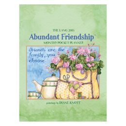 LANG Abundant Friendship 2015 Pocket Planner