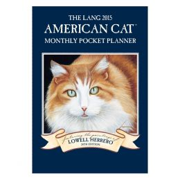 LANG American Cat 2015 Pocket Calendar