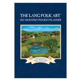 LANG LANG Folk Art 2015 Pocket Planner