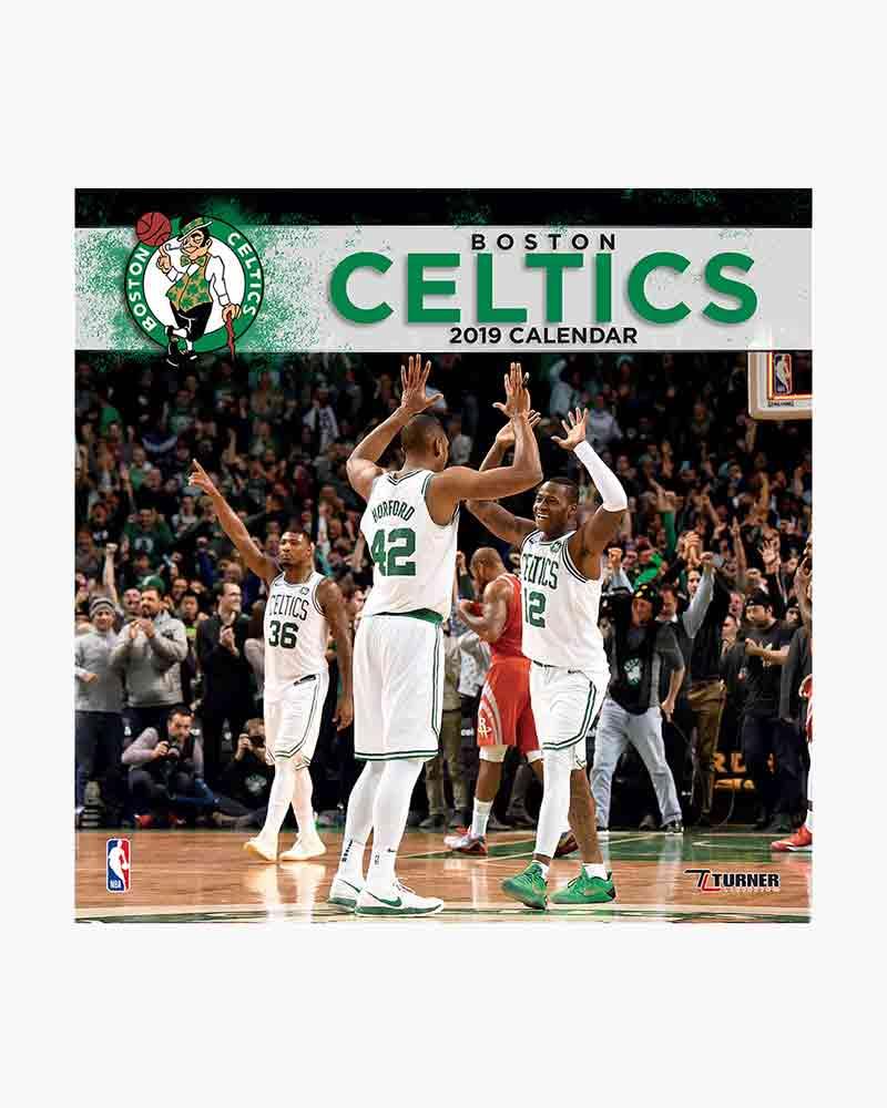 8d7ceace LANG Boston Celtics Team 2019 Wall Calendar | The Paper Store
