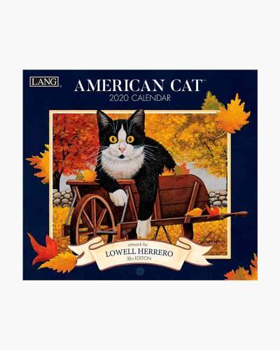 American Cat 2020 Wall Calendar