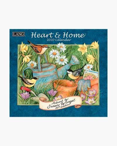 Heart and Home 2020 Wall Calendar