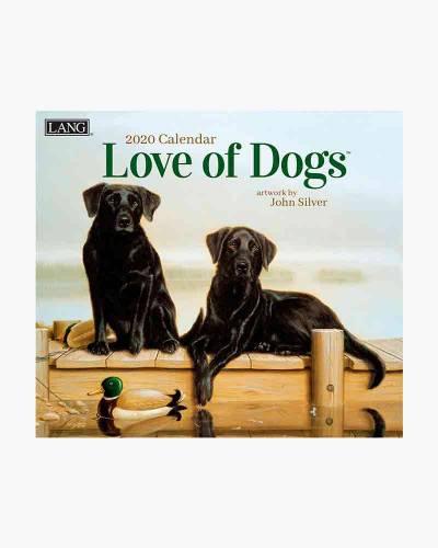 Love of Dogs 2020 Wall Calendar