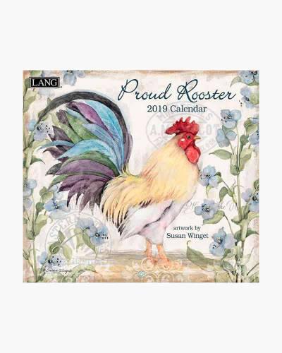 Proud Rooster 2020 Wall Calendar