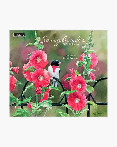 Songbirds 2020 Wall Calendar