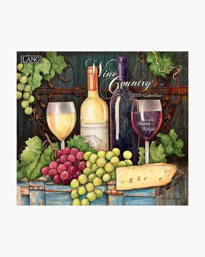 Wine Country 2020 Wall Calendar