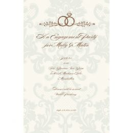 Bella Ink Wedding Rings Open Stock Stationery
