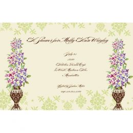 Bella Ink Topiary Open Stock Stationery