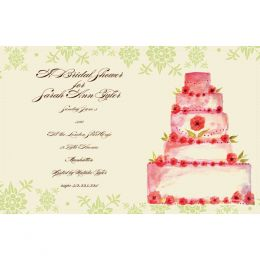 Bella Ink Wedding Cake Open Stock Stationery