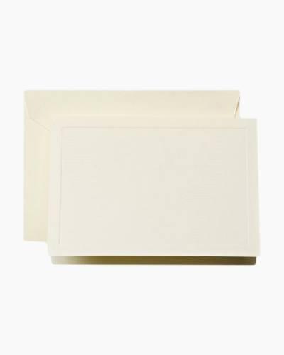 Graceful Ecruwhite Top Fold Note