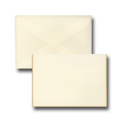 Gold Border - Boxed Notes