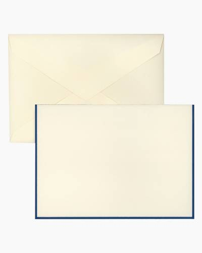 Blue Border - Boxed Notes
