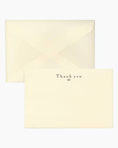 Navy - Thank You Cards