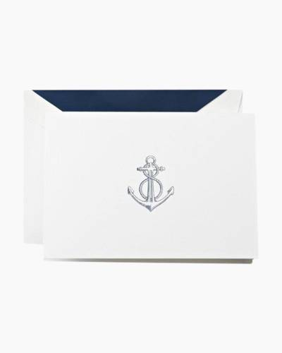 Anchor Embossed Fold Note