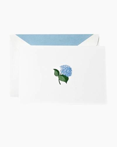 Blue Hydrangea- Boxed Notes