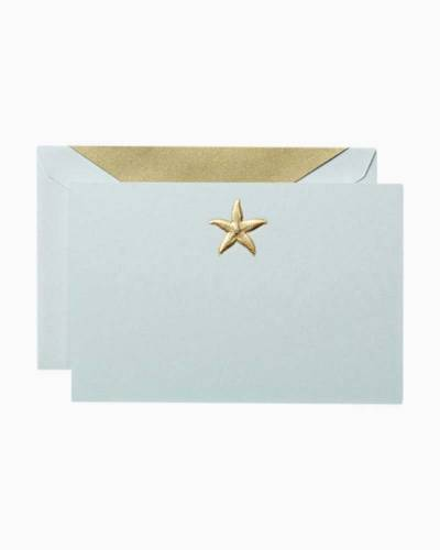 Engraved Starfish- Boxed Notes