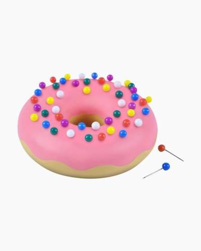 Desk Donut Pushpins and Holder