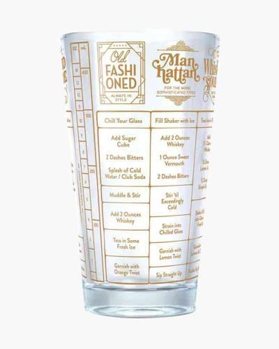 Good Measure Whiskey Recipe Glass