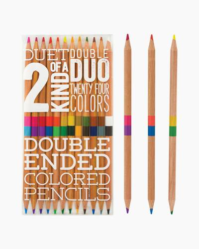 Double Ended Colored Pencils Set