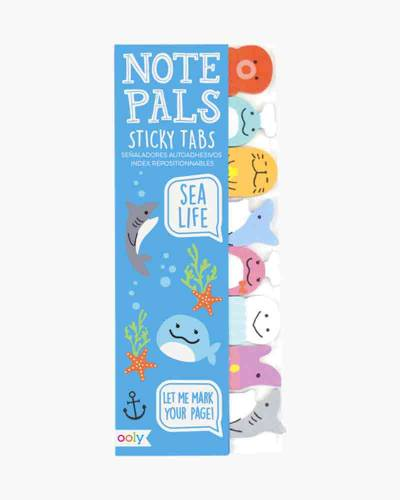 Sea Life Note Pals Sticky Tabs