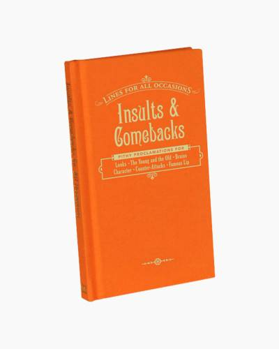 Insults and Comebacks for All Occasions (Hardcover)