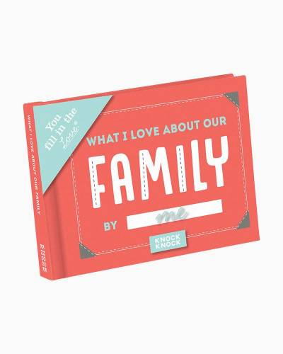 What I Love About Our Family Fill in the Love Journal