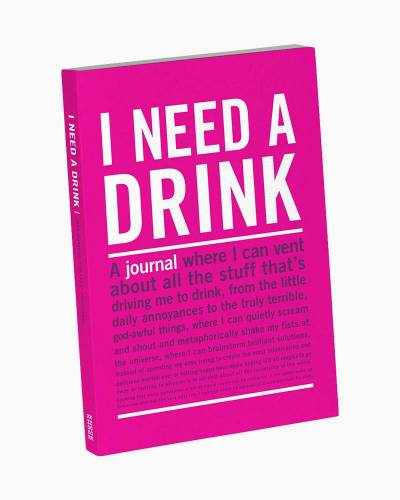 I Need a Drink Mini Inner Truth Journal