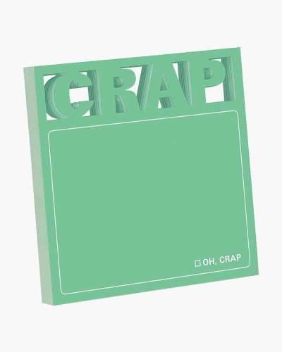 Crap Diecut Sticky Notes
