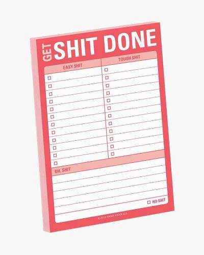 Get Sh-t Done Great Big Sticky Pad