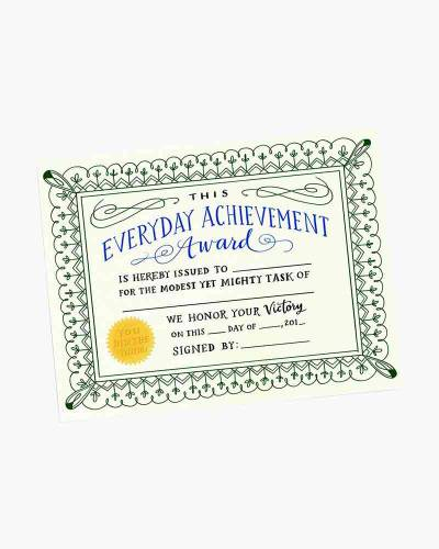 Everyday Achievement Award Notepad